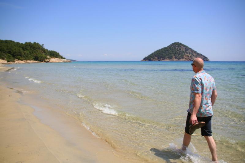 paradise beach - best beach in Thassos?