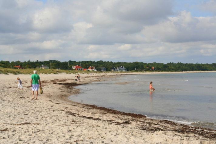 Hornbaek Beach on the Danish Riviera, North Sealand, is one of many beautiful beaches on this coastline. Beast beach in Denmark