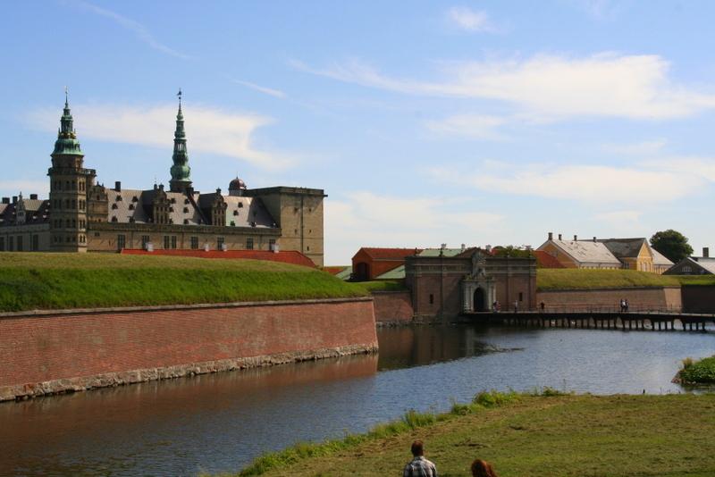 Kronborg Castle, Helsingor, North Sealand, Denmark. Days out in Denmark. Day trips from Copenhagen