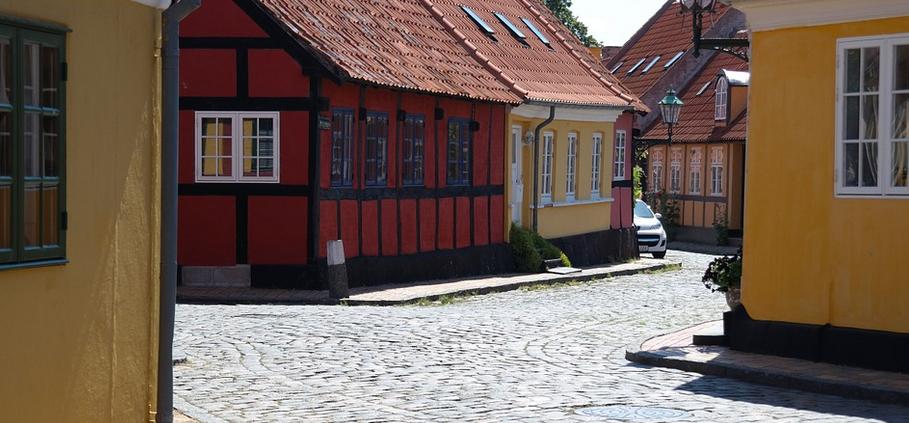 Old Danish town, Denmark