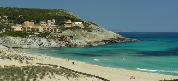 Cala Mesquida - a great family resort in Mallorca.