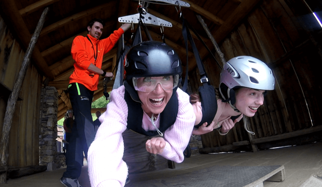 If you're looking for family fun in the italian lakes then you must try the zipline at Lake Maggiore