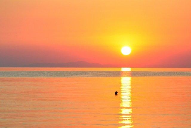 best sunset spot in Thassos