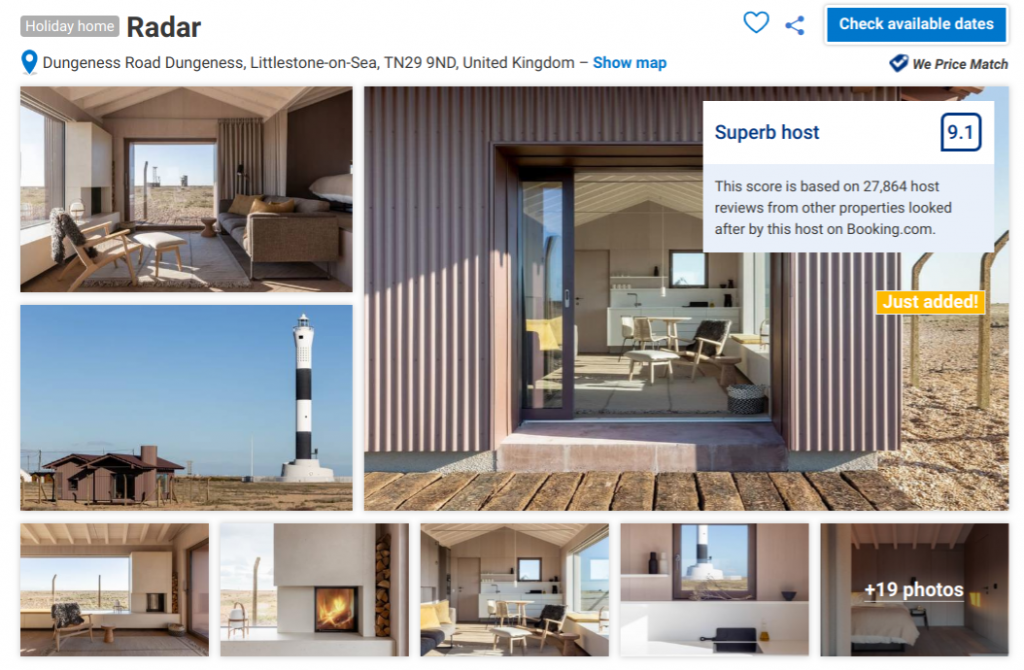 Is there anywhere to stay in Dungeness? Yes, there are a few types of accommodation here and it would make a great place for a holiday in England