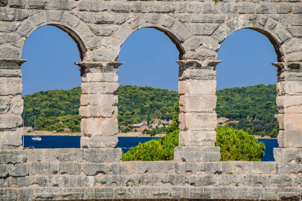 things to see in Istria - Pula's colosseum