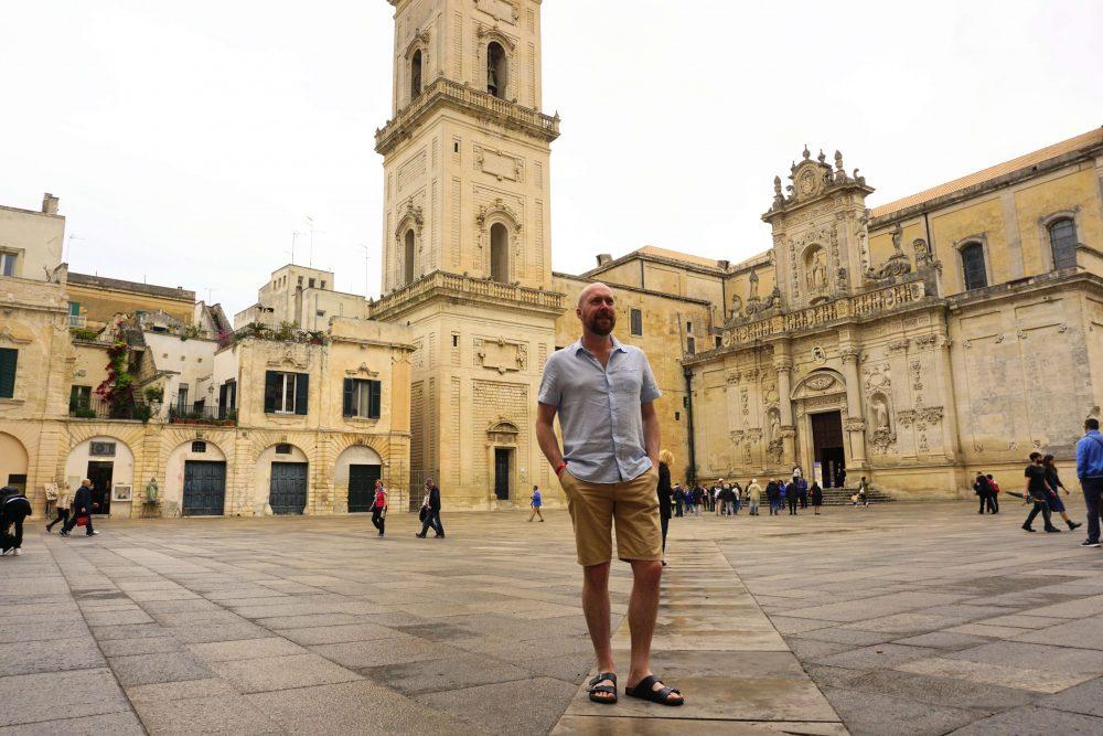 Cattedrale di Santa Maria Assunta, Lecce. on Piazza del Duomo