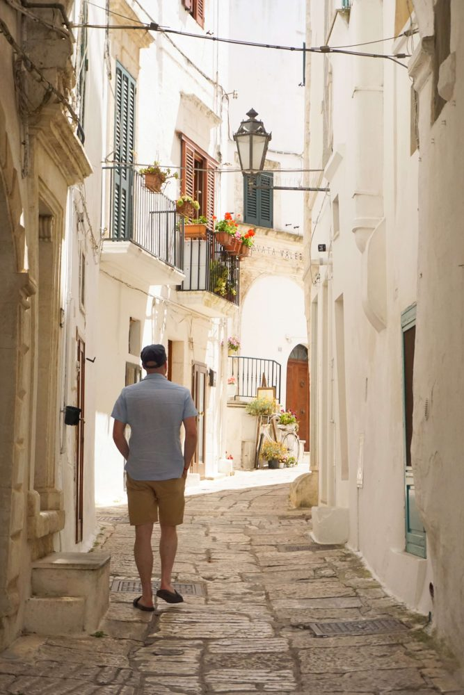 One of the prettiest towns to visit in the Salento region of Puglia, Ostuni. The White city.