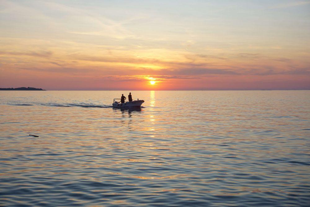 best sunset spot in istria