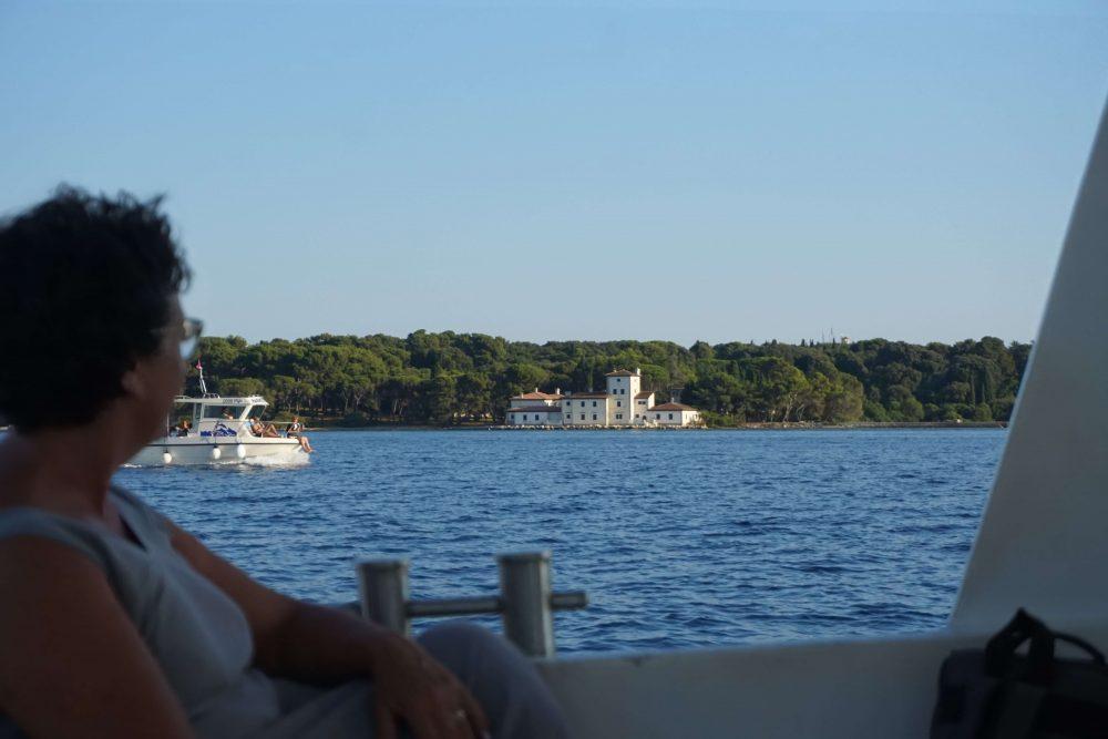 boat trip from fazana, istria